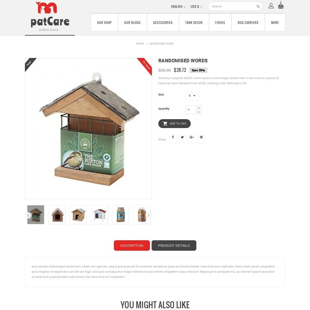 theme - Animals & Pets - Patcare - The Animal Store - 6