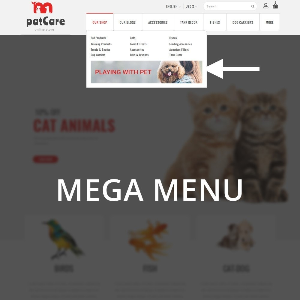 theme - Animals & Pets - Patcare - The Animal Store - 9