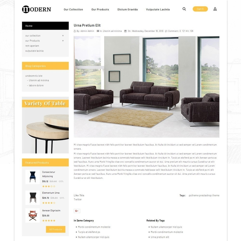 theme - Home & Garden - Modern - The Furniture Shop - 7