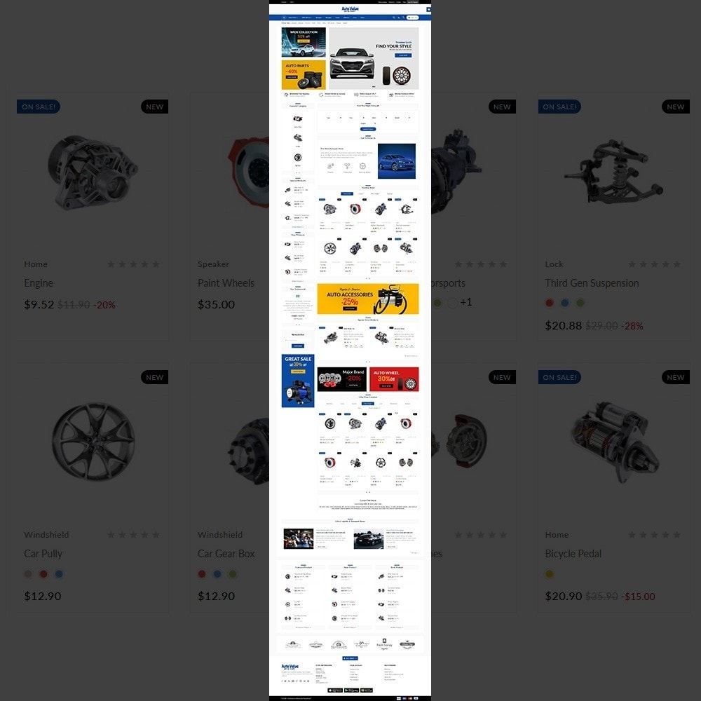theme - Carros & Motos - Auto Part –Tools Mega Shop - 2
