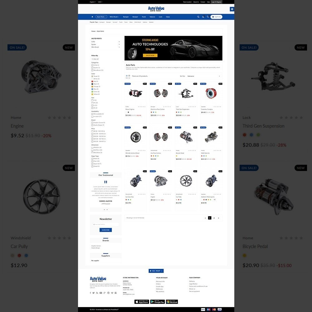 theme - Carros & Motos - Auto Part –Tools Mega Shop - 3