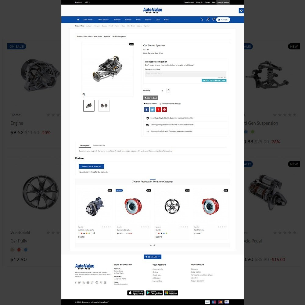 theme - Carros & Motos - Auto Part –Tools Mega Shop - 5