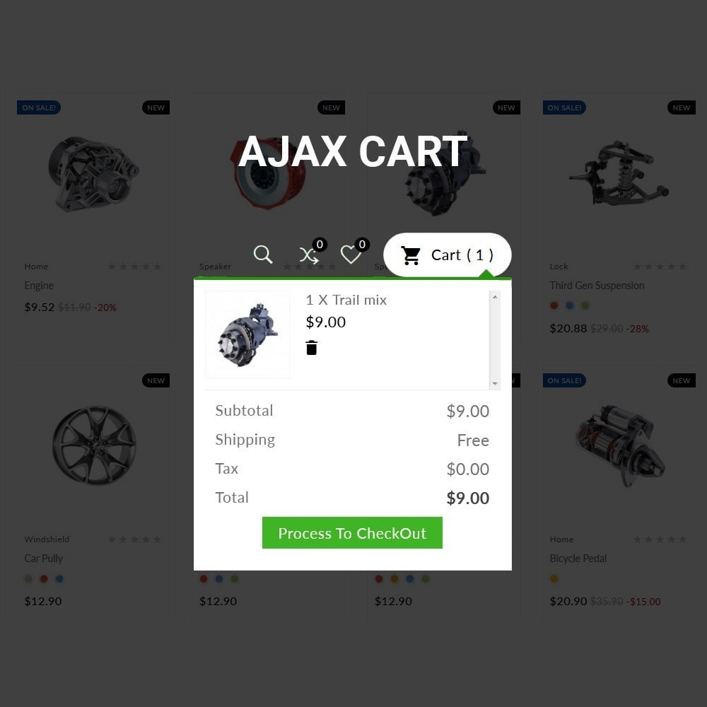 theme - Auto & Moto - Auto Part –Tools Mega Shop - 7
