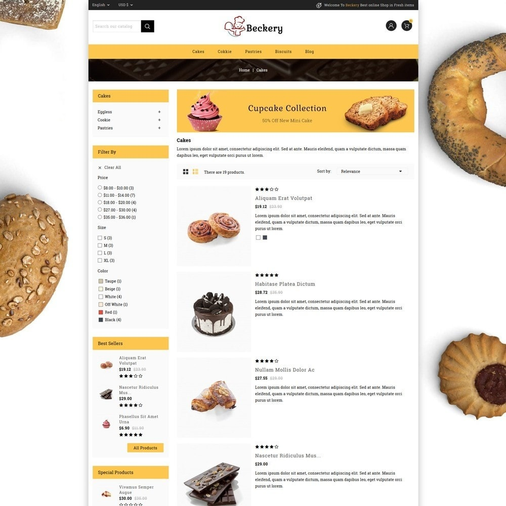 theme - Lebensmittel & Restaurants - Bakery Store - 4