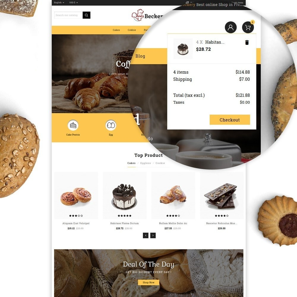theme - Lebensmittel & Restaurants - Bakery Store - 7