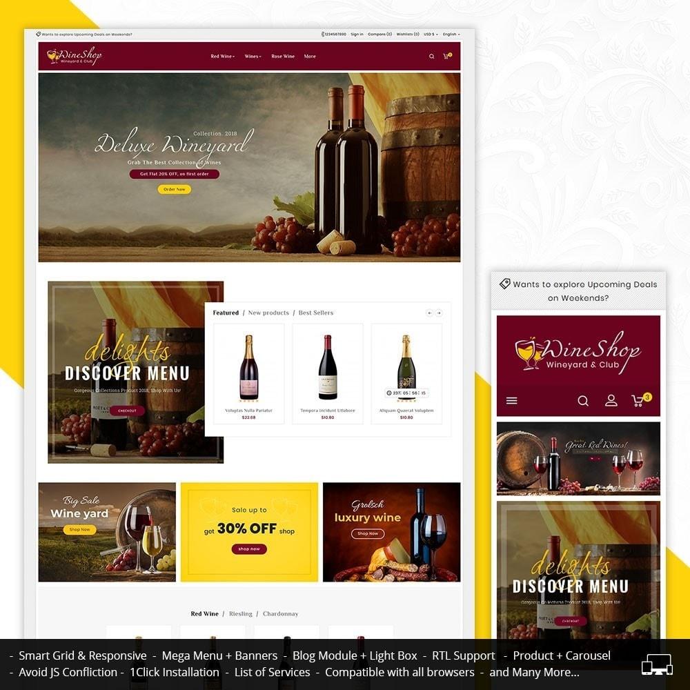 theme - Bebidas & Tabaco - Wine Club & Yard - 1