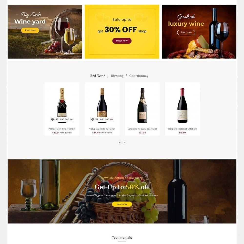 theme - Bebidas & Tabaco - Wine Club & Yard - 3