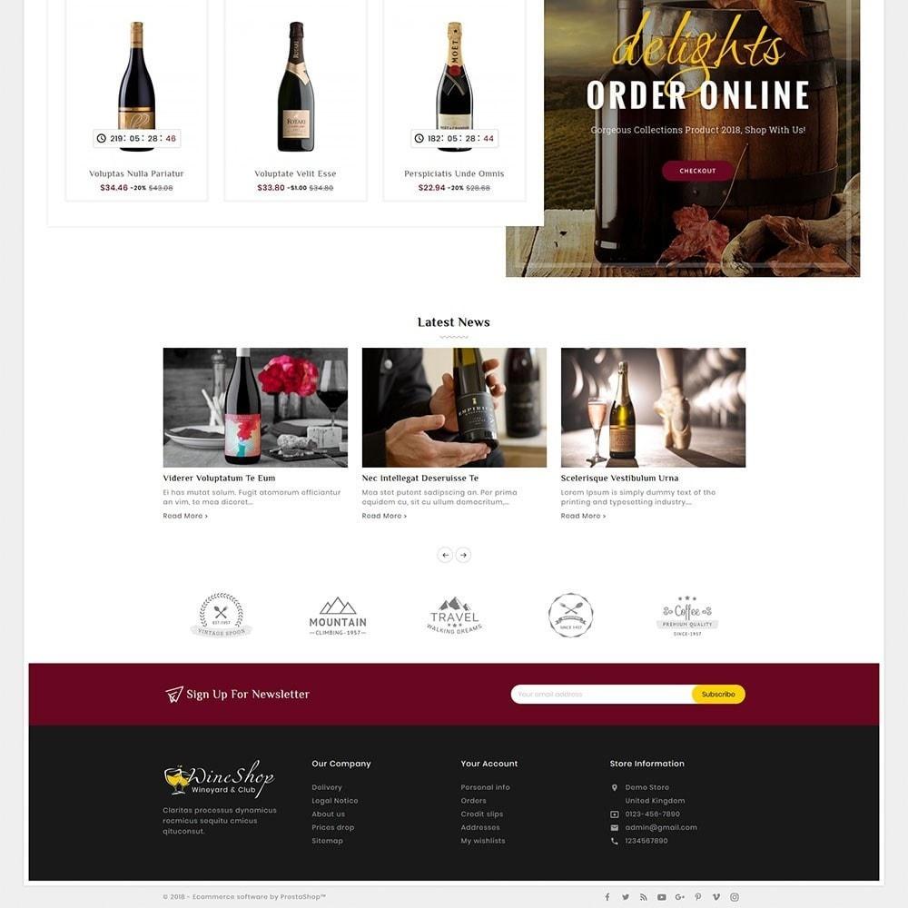 theme - Bebidas & Tabaco - Wine Club & Yard - 4