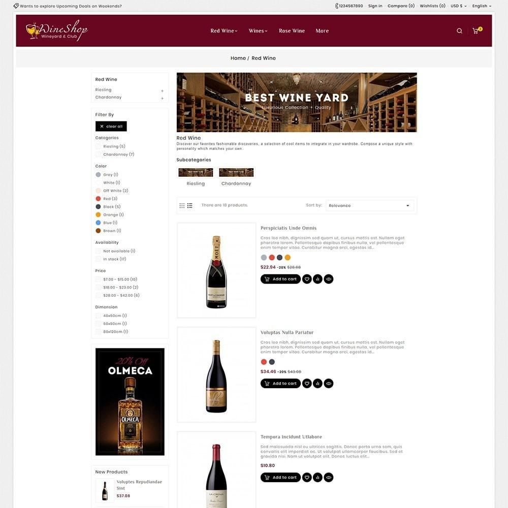 theme - Bebidas & Tabaco - Wine Club & Yard - 6