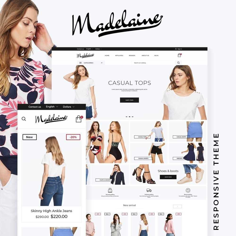 theme - Mode & Chaussures - Madelaine Fashion Store - 1