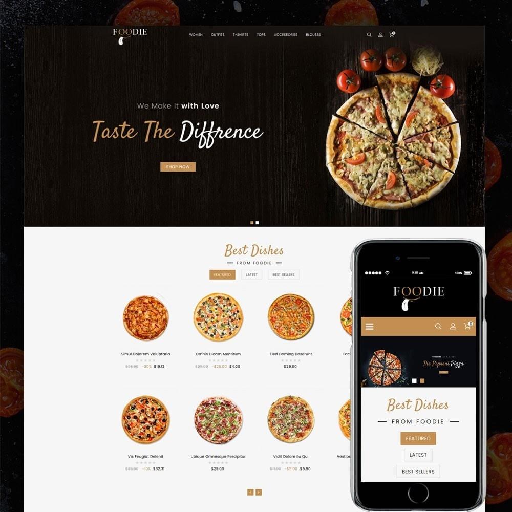 theme - Alimentos & Restaurantes - Foodie Food Store - 1