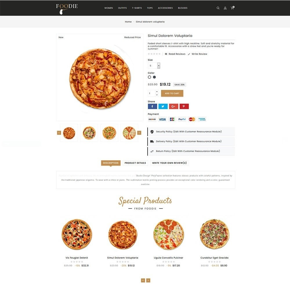 theme - Alimentos & Restaurantes - Foodie Food Store - 4