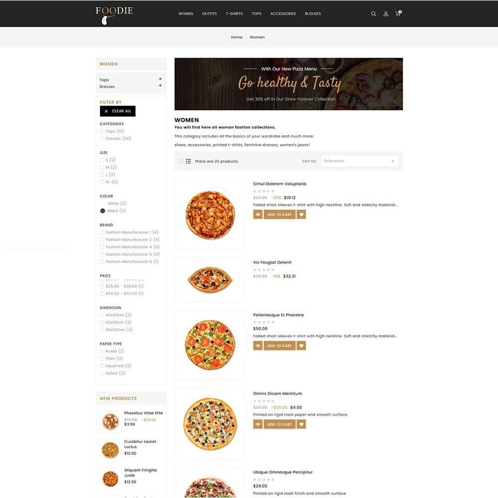 theme - Alimentos & Restaurantes - Foodie Food Store - 6