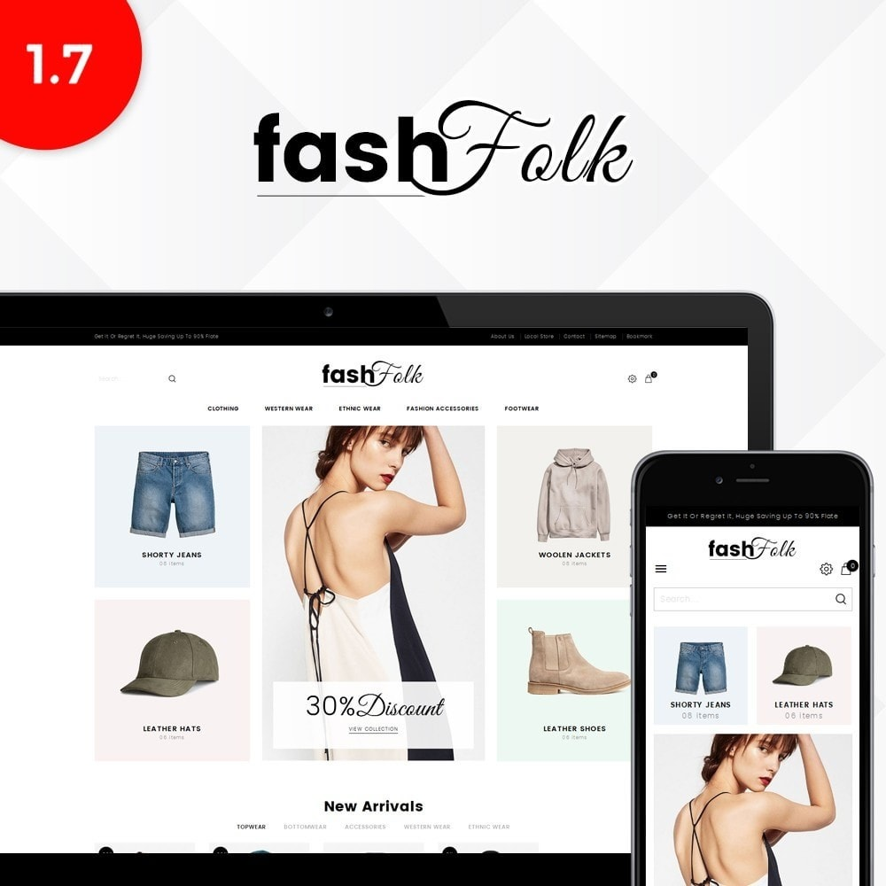 theme - Mode & Chaussures - Fash Folk store - 1