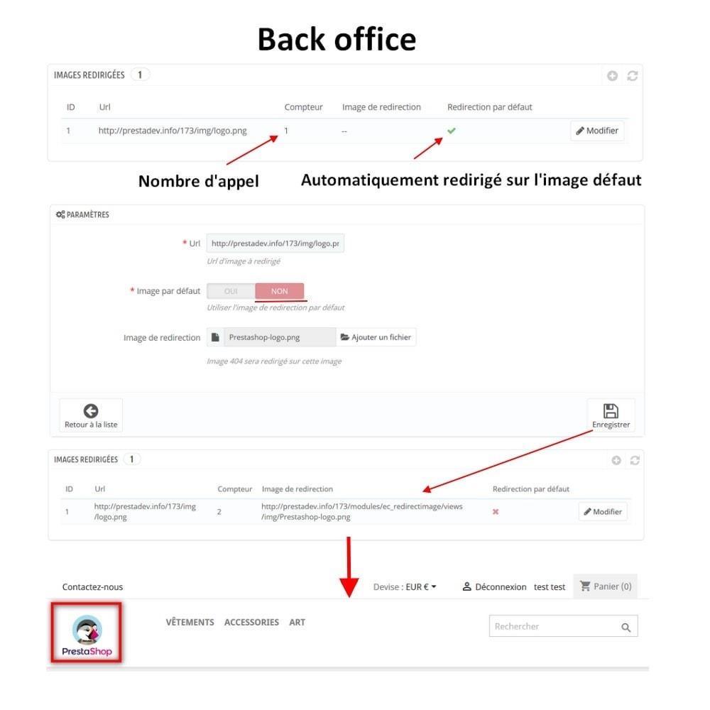 module - URL & Redirections - Redirection automatique de toutes vos images 404 - 3
