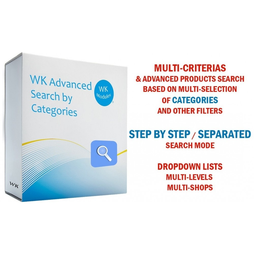 module - Suche & Filter - Wk Advanced Search By Categories - 1