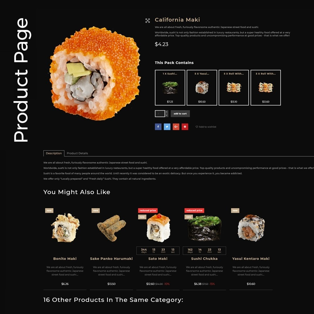 theme - Food & Restaurant - SushiExpress - Restaurant Store - 5