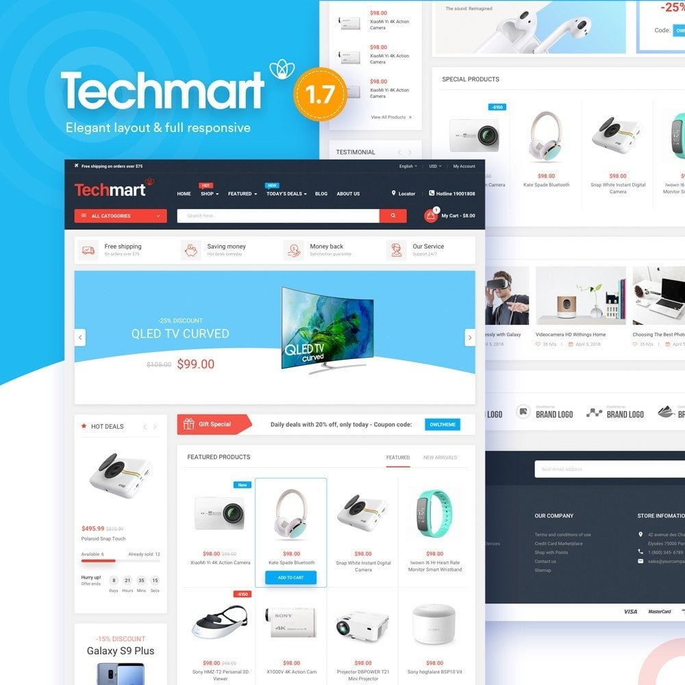 theme - Eletrônicos & High Tech - Techmart - High-tech Store - 1