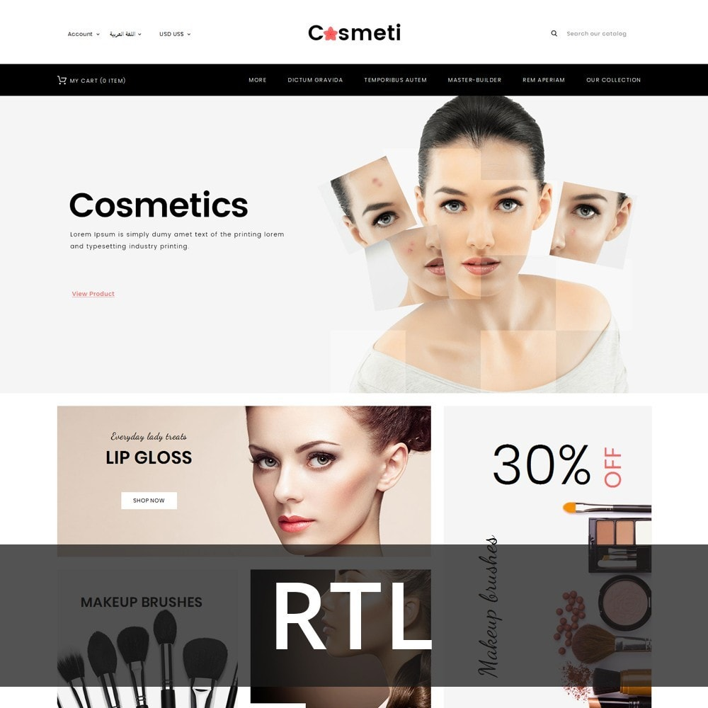 theme - Mode & Chaussures - Cosmeti - The Beauty Shop - 3