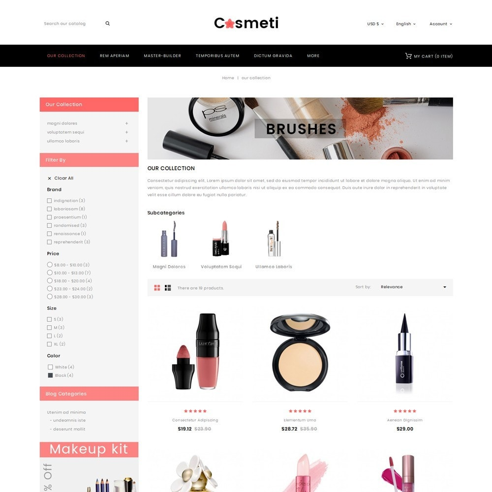 theme - Mode & Chaussures - Cosmeti - The Beauty Shop - 4