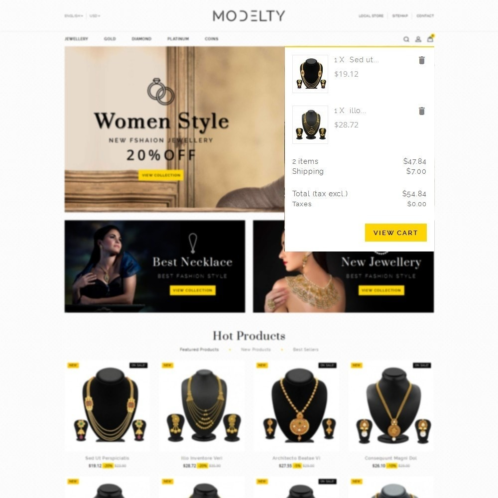 theme - Bijoux & Accessoires - Modelty Jewellery Store - 8