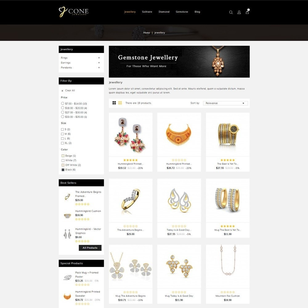 theme - Jewelry & Accessories - Cone Jewelers Store - 3