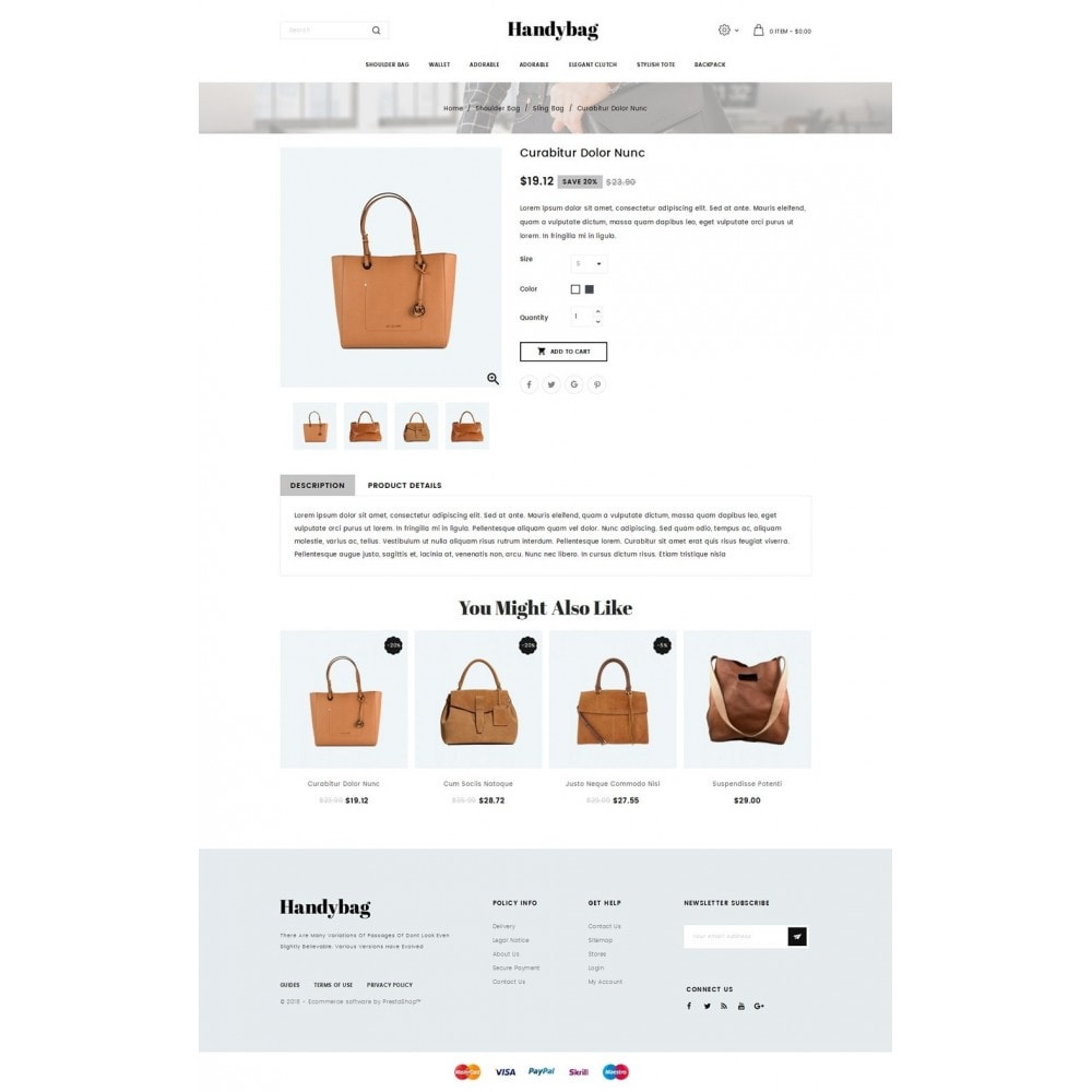 theme - Mode & Chaussures - Handybag store - 4