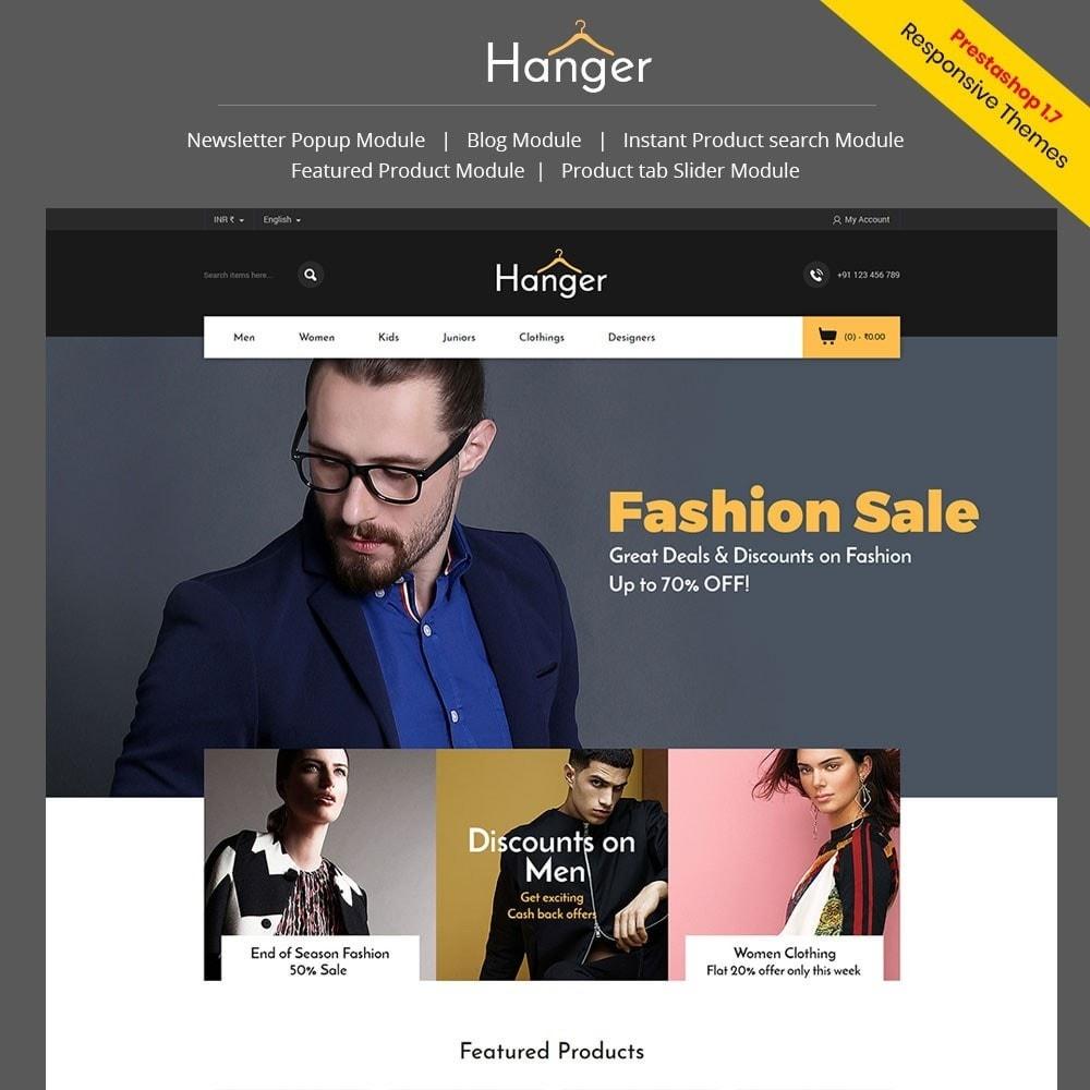 theme - Fashion & Shoes - Hanger Fashion Store - 1