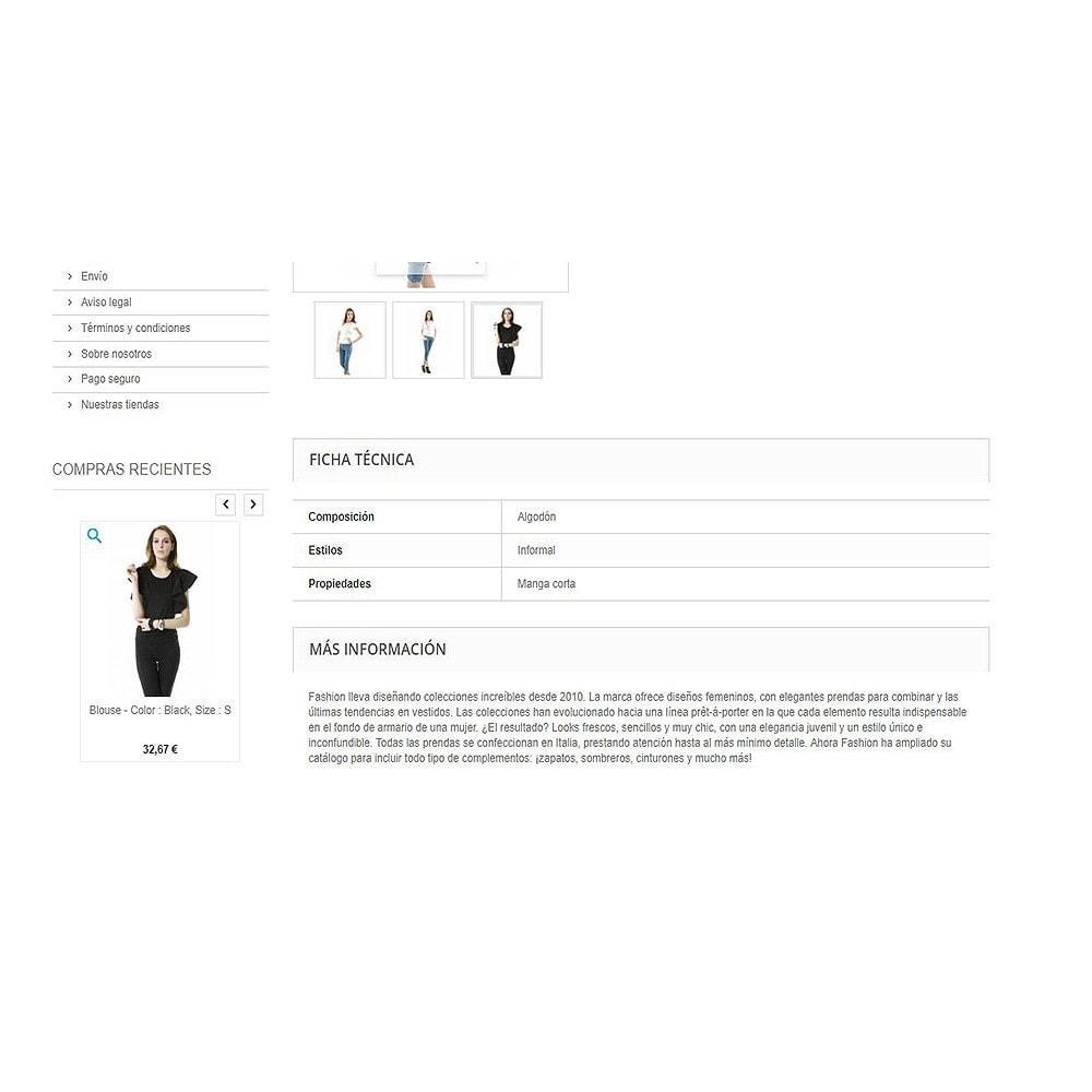 module - Gestión de Pedidos - Productos comprados recientemente   Pedidos recientes - 6