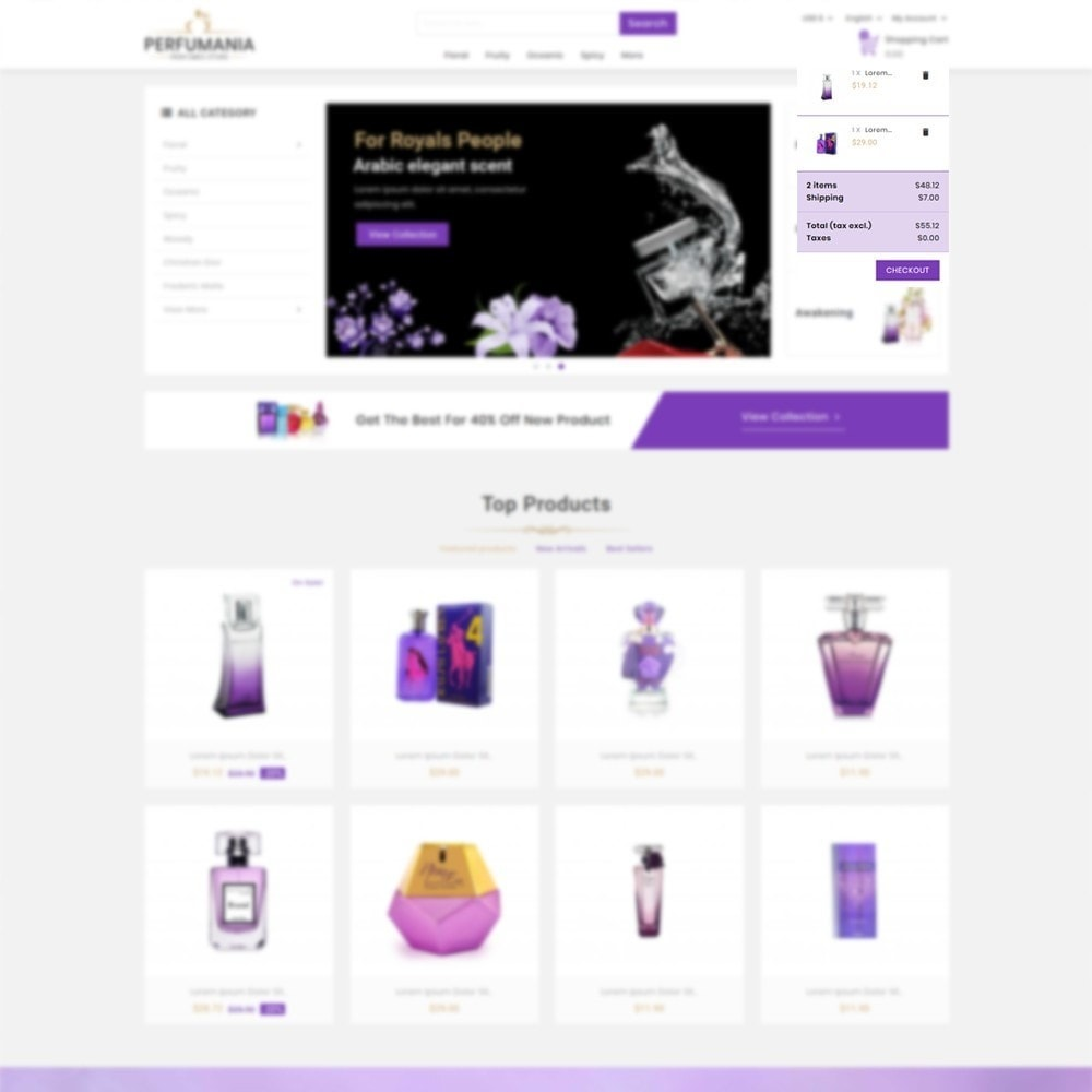 theme - Fashion & Shoes - Perfumania - Perfume Store - 6