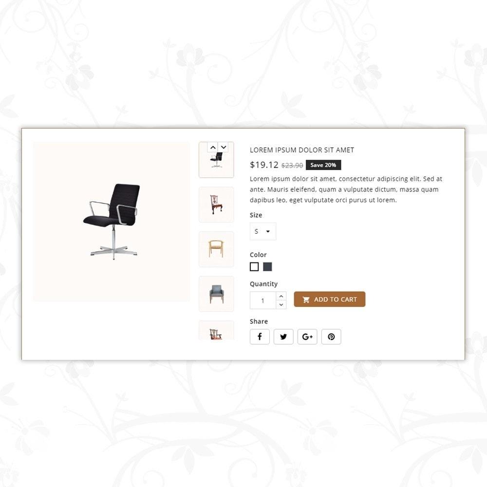 theme - Home & Garden - Modern - Furniture Store - 7
