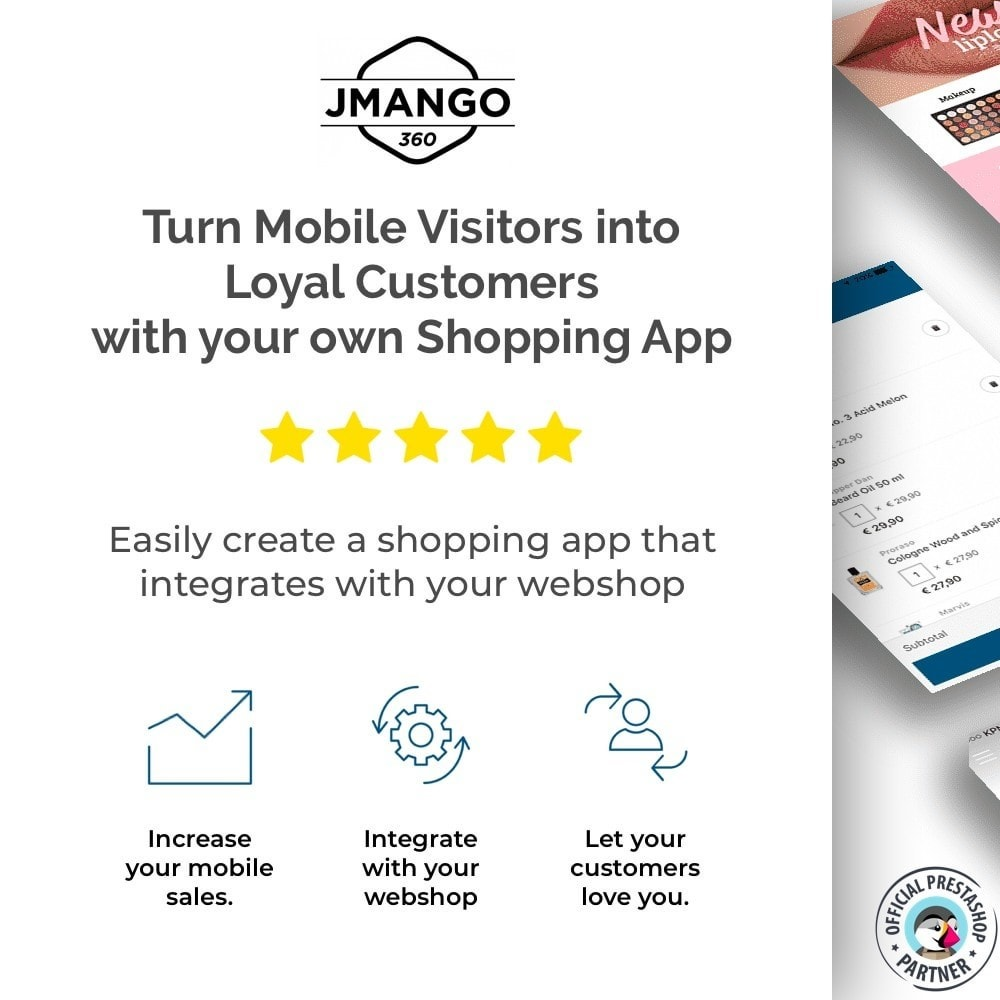 module - Mobile - JMango360 Mobile App Builder - 1