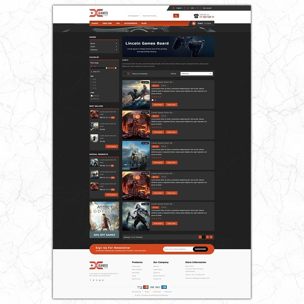 theme - Sport, Loisirs & Voyage - Game Store - 4
