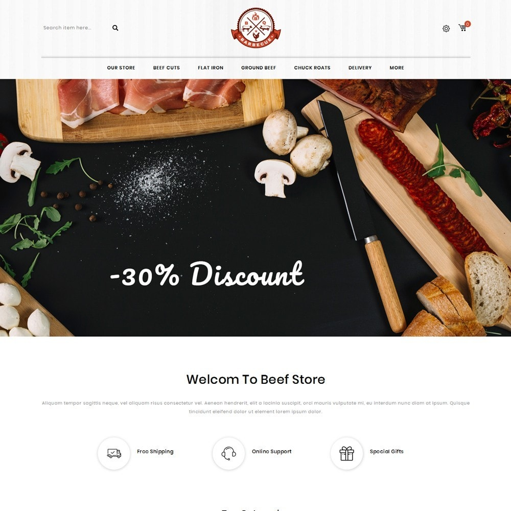 theme - Eten & Restaurant - Barbecue - The Meat Shop - 2