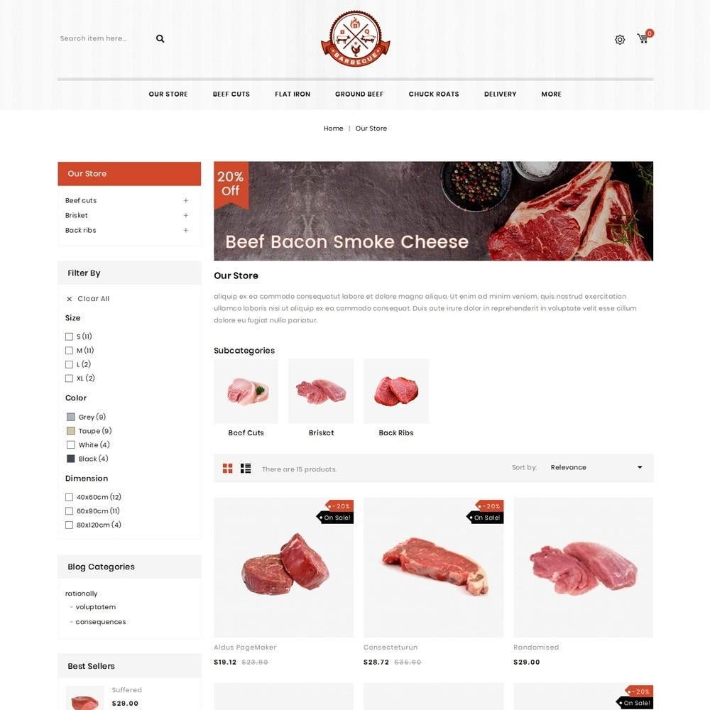 theme - Eten & Restaurant - Barbecue - The Meat Shop - 5
