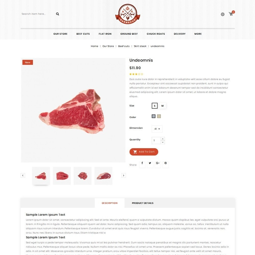 theme - Eten & Restaurant - Barbecue - The Meat Shop - 6