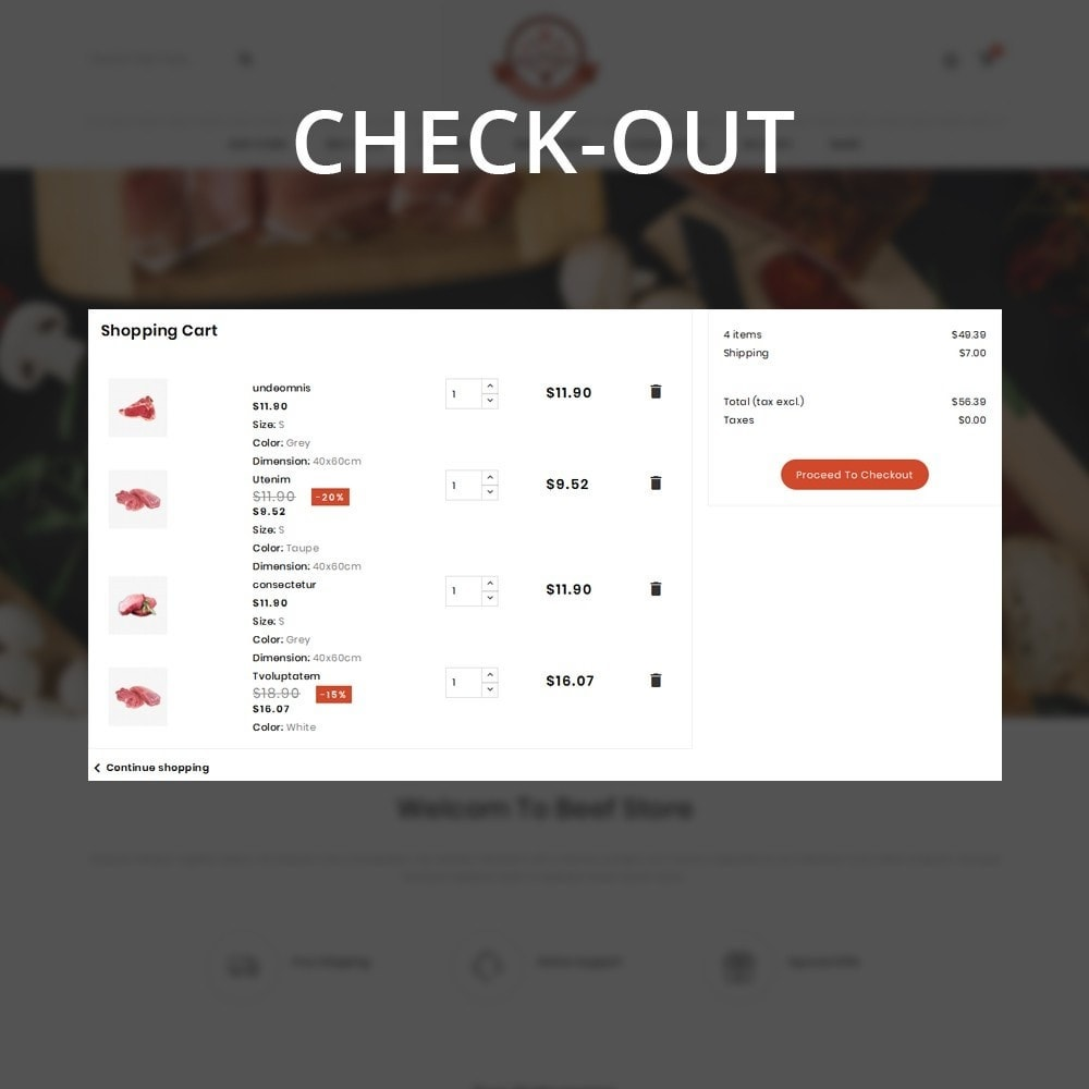 theme - Eten & Restaurant - Barbecue - The Meat Shop - 13