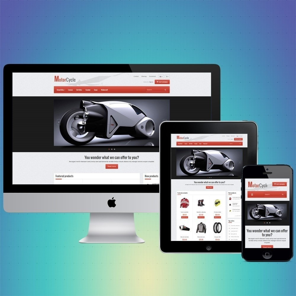 theme - Automotive & Cars - VP_MotorCycle Store - 1