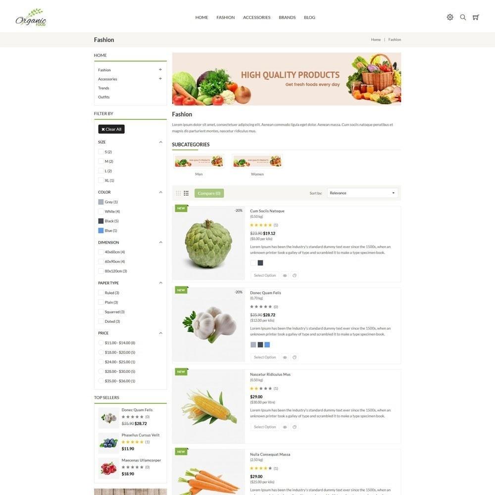 theme - Food & Restaurant - Organic Store - 4