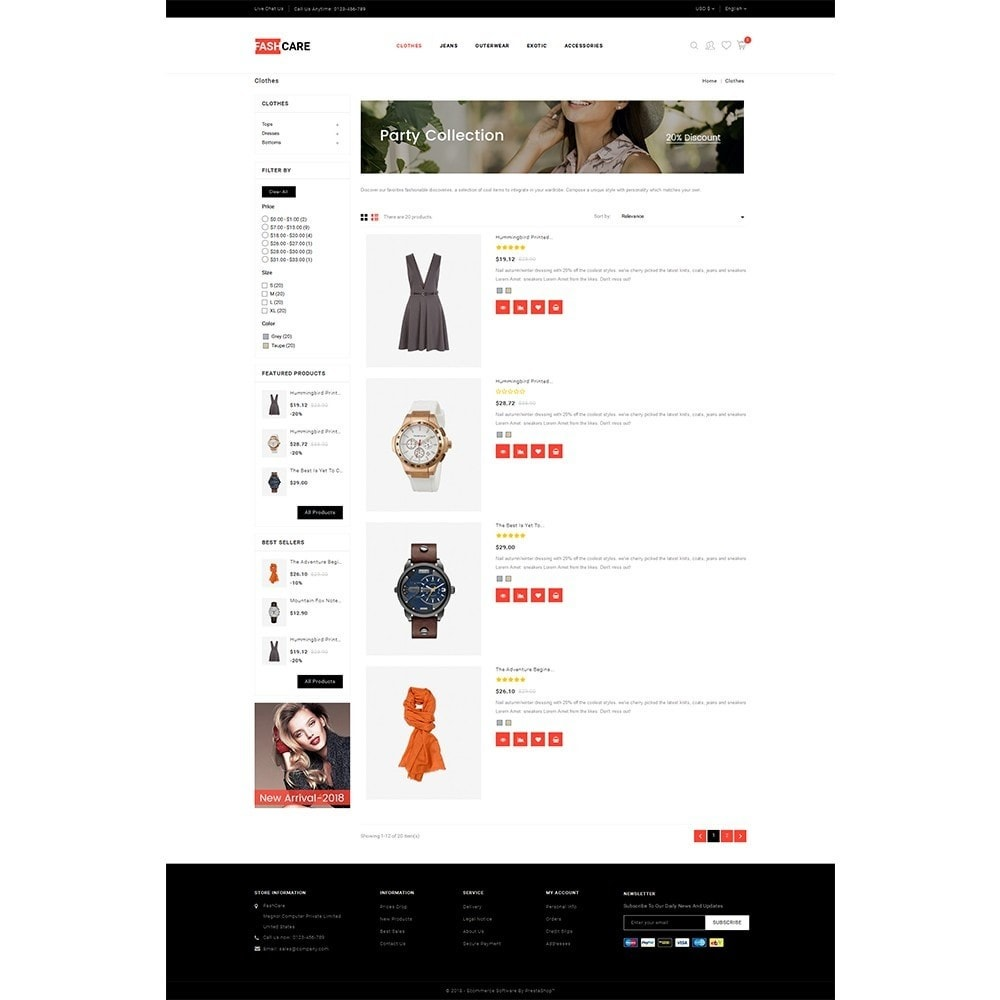 theme - Mode & Chaussures - Fashcare Fashion Store - 4