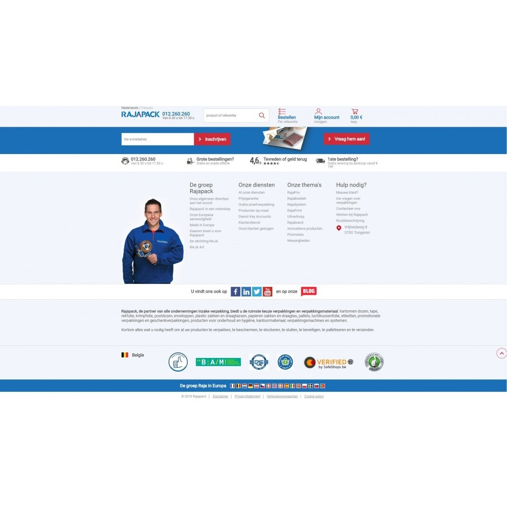 service - Badge & Loghi - BeCommerce - 2