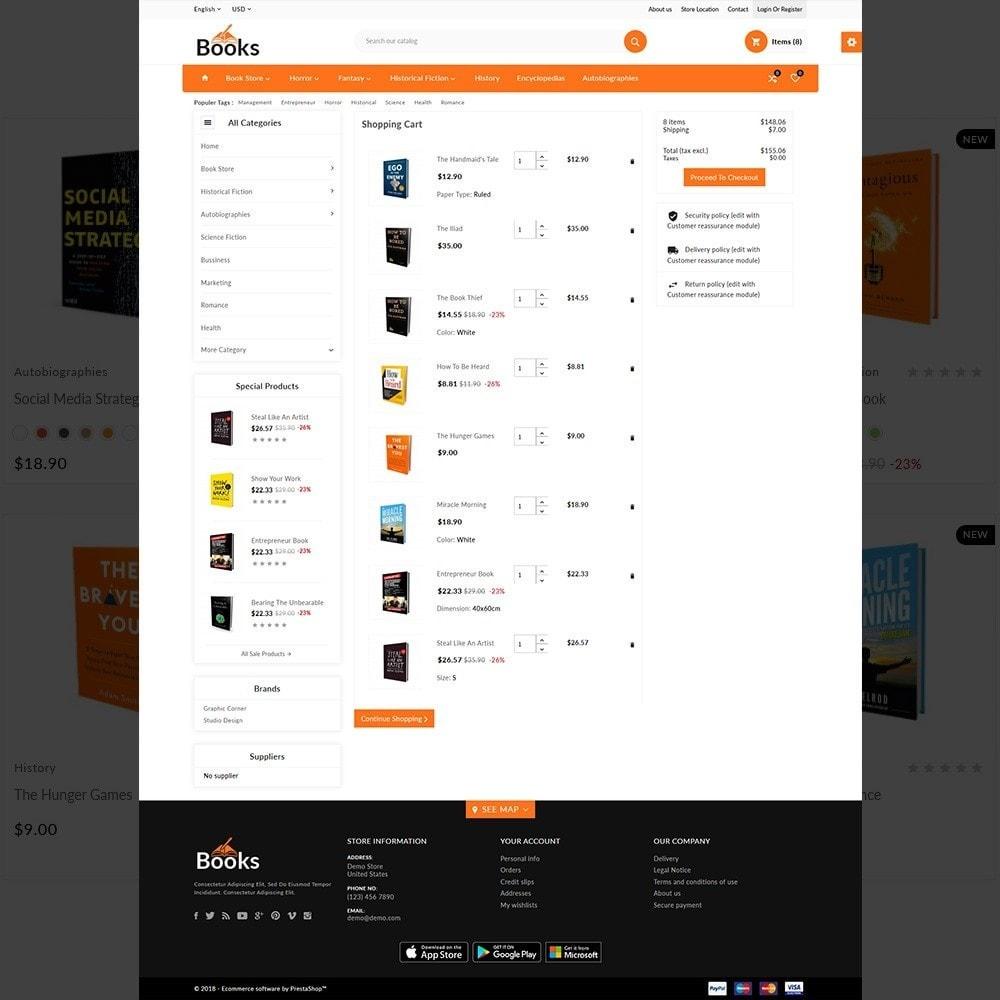 theme - Home & Garden - The Book – Books Store - 4