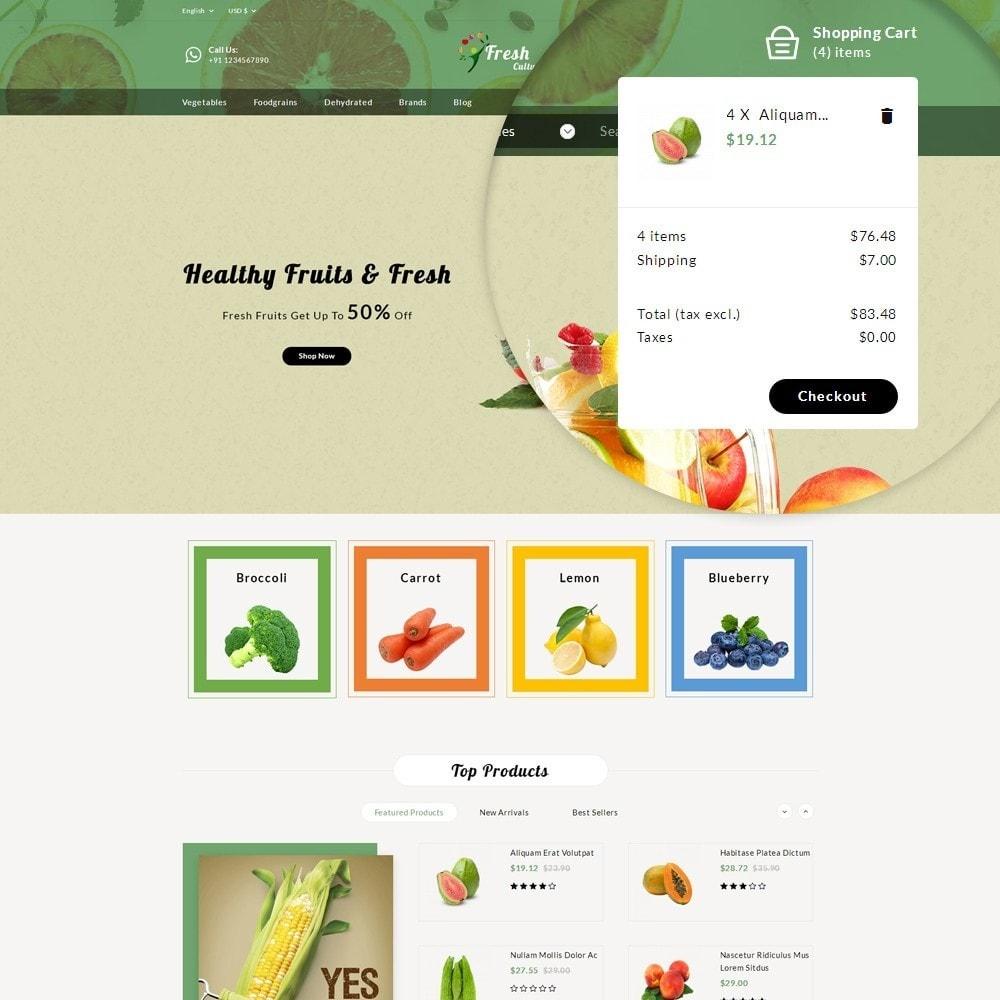 theme - Food & Restaurant - Fresh Culture Organic Store - 9
