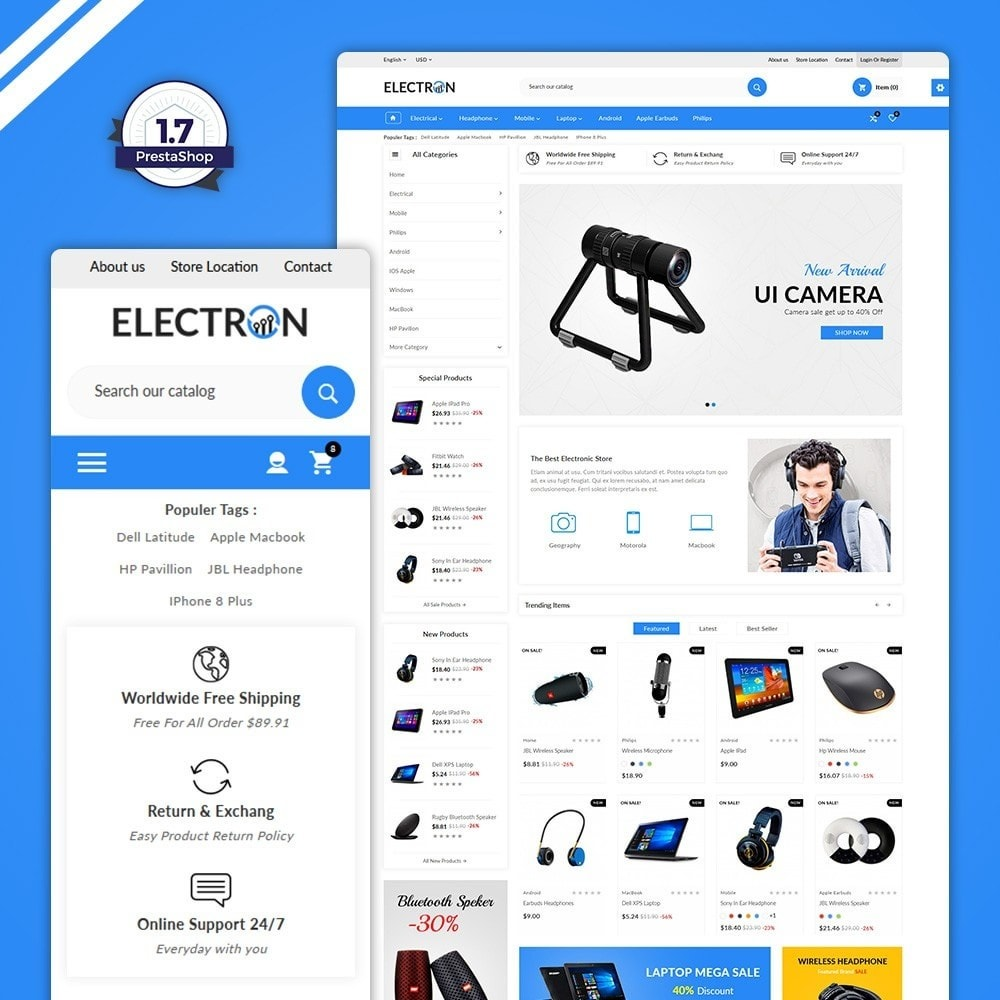 theme - Elektronika & High Tech - Electron – Electronics Super Store - 1