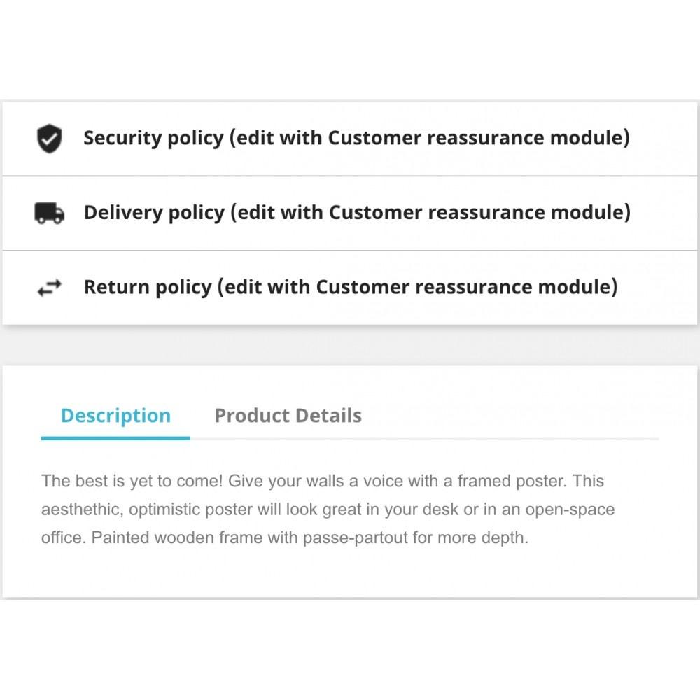 module - Blokken, Tabbladen & Banners - Customer reassurance - 3