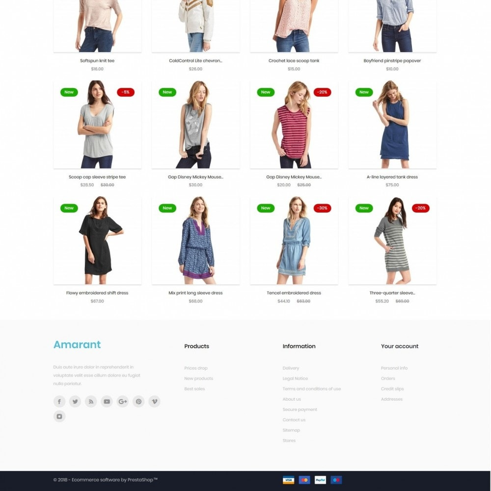 theme - Fashion & Shoes - Amarant Fashion Store - 4