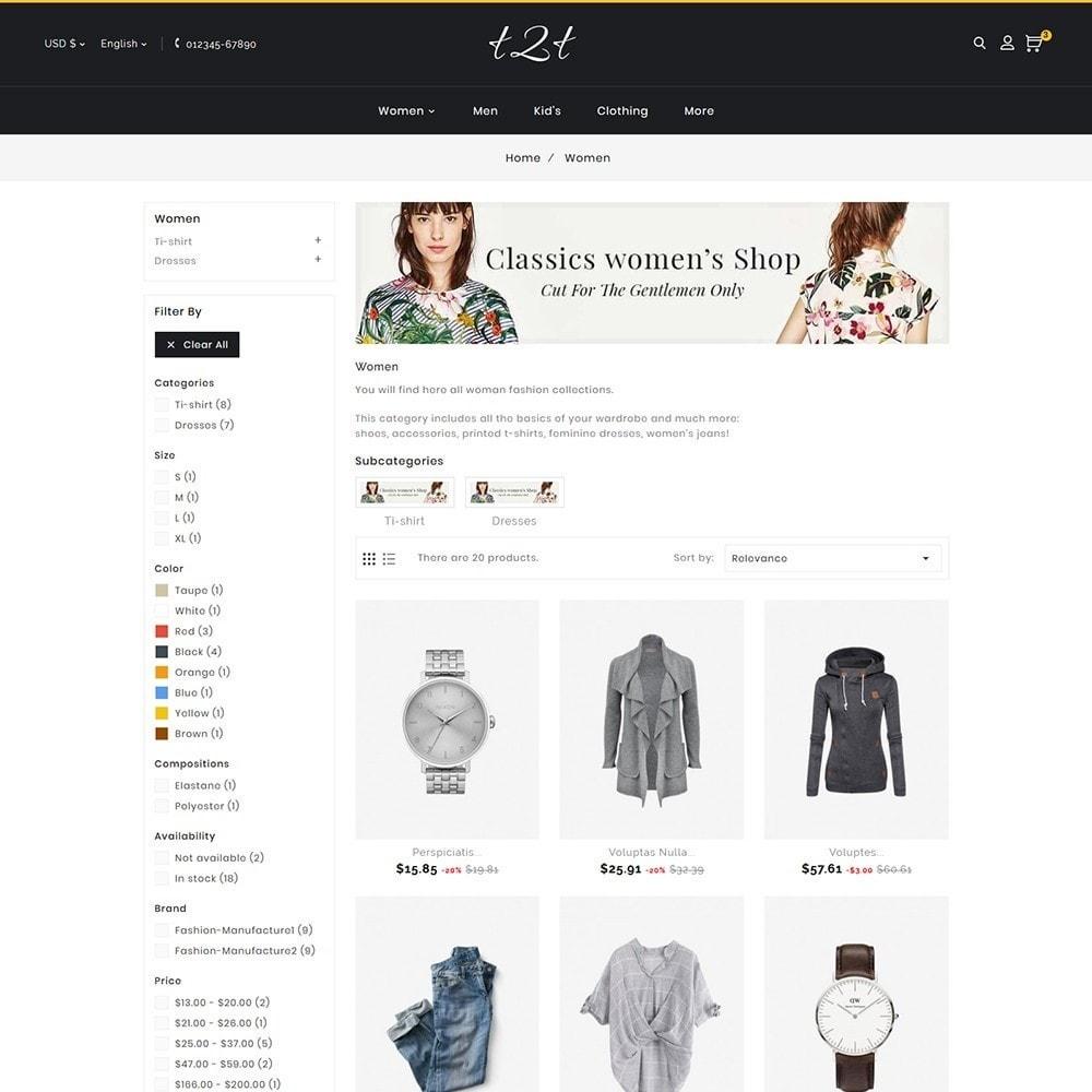 theme - Moda & Calzature - t2t Fashion Style - 6