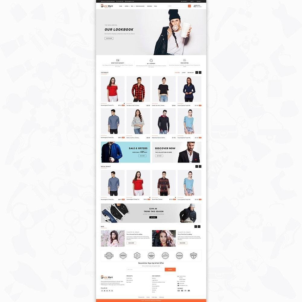 theme - Fashion & Shoes - Fashion Mart - The Fashion Shop - 2