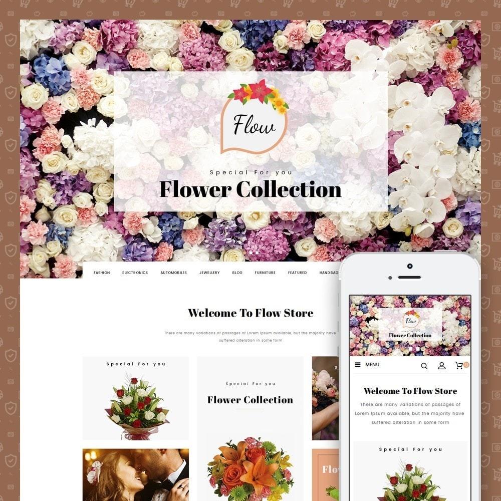 theme - Presentes, Flores & Comemorações - Flow - Flowers Store - 1