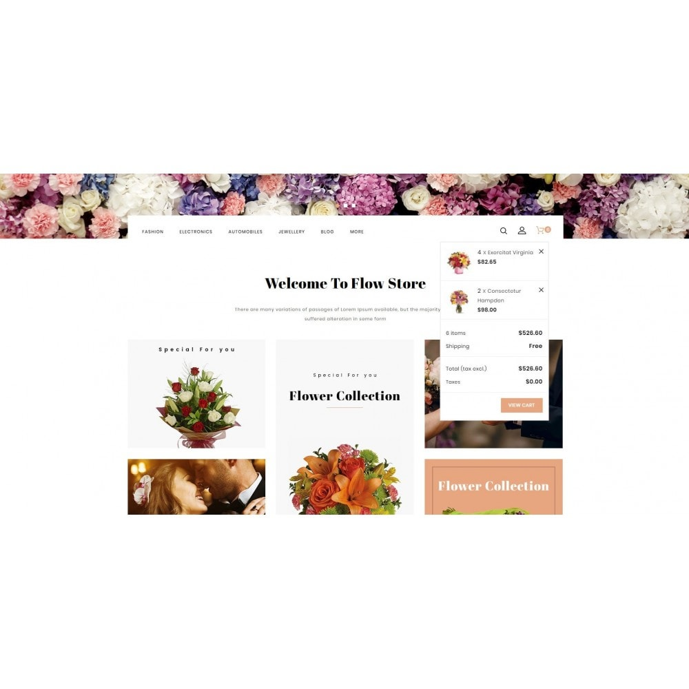theme - Gifts, Flowers & Celebrations - Flow - Flowers Store - 8